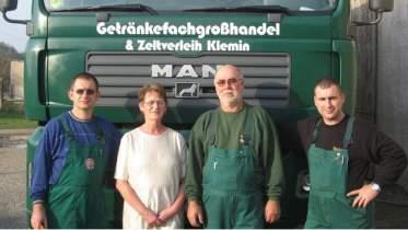 Unternehmen Getränkefachgroßhandel Klemin GmbH